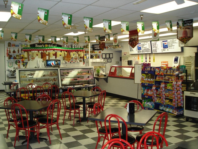 Italian deli amp pizzeria carries a wide variety of imported italian